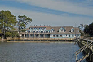 Inn at Corolla Rear Dock in Corolla North Carolina Outer Banks